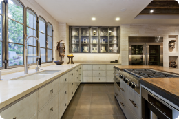 Private Residence Monte Sereno - Kitchen Cabinets