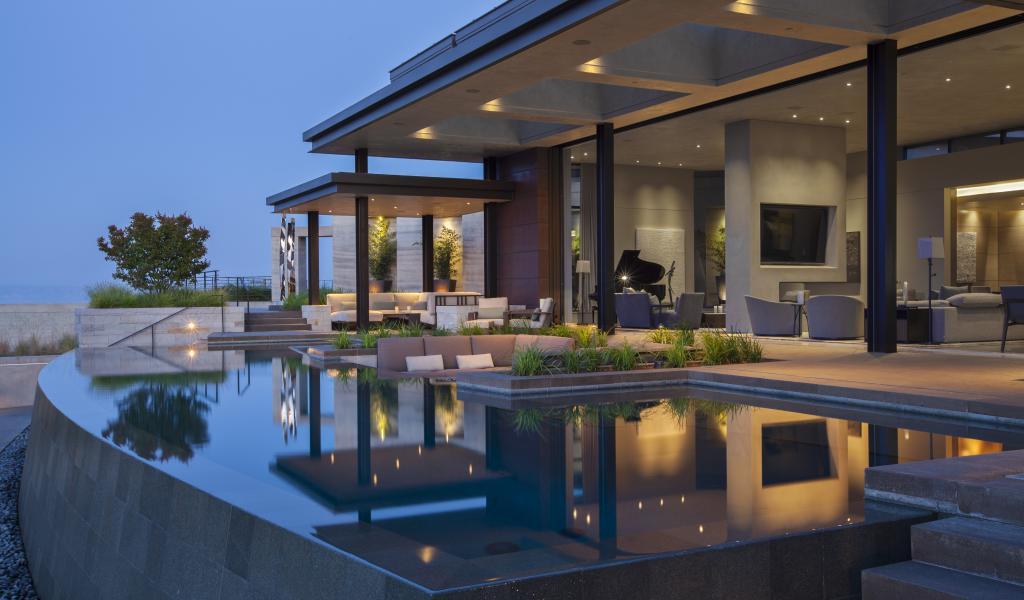 Noel F. Cross, Architecture AIA, Saint Dizier Design, Strata Landscape Architecture, Photo: Frank Paul Perez